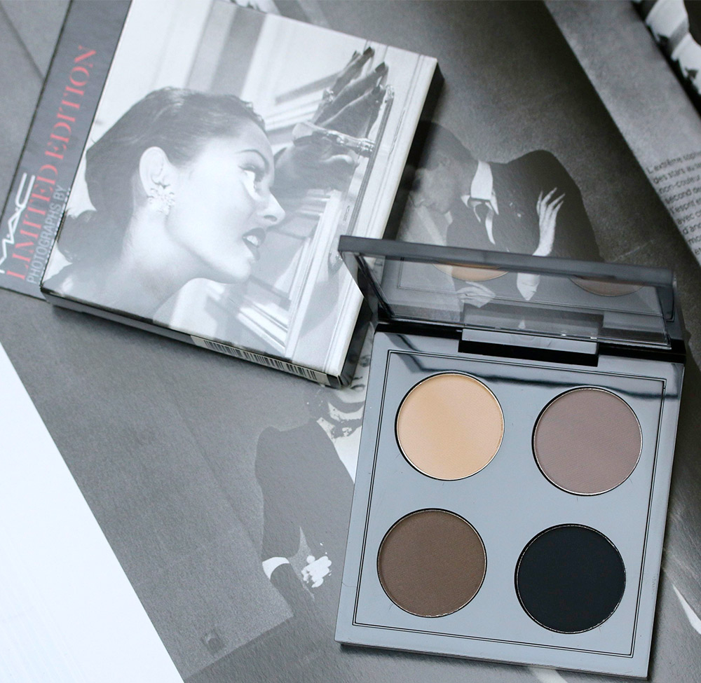 mac limited edition photographs helmut newton eye shadow
