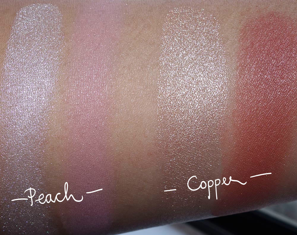 mac nutcracker sweet face swatches