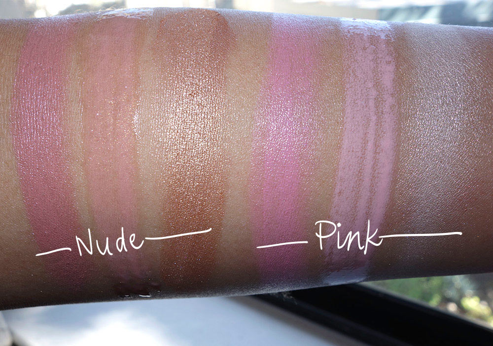 mac nutcracker sweet mineralize kit swatches