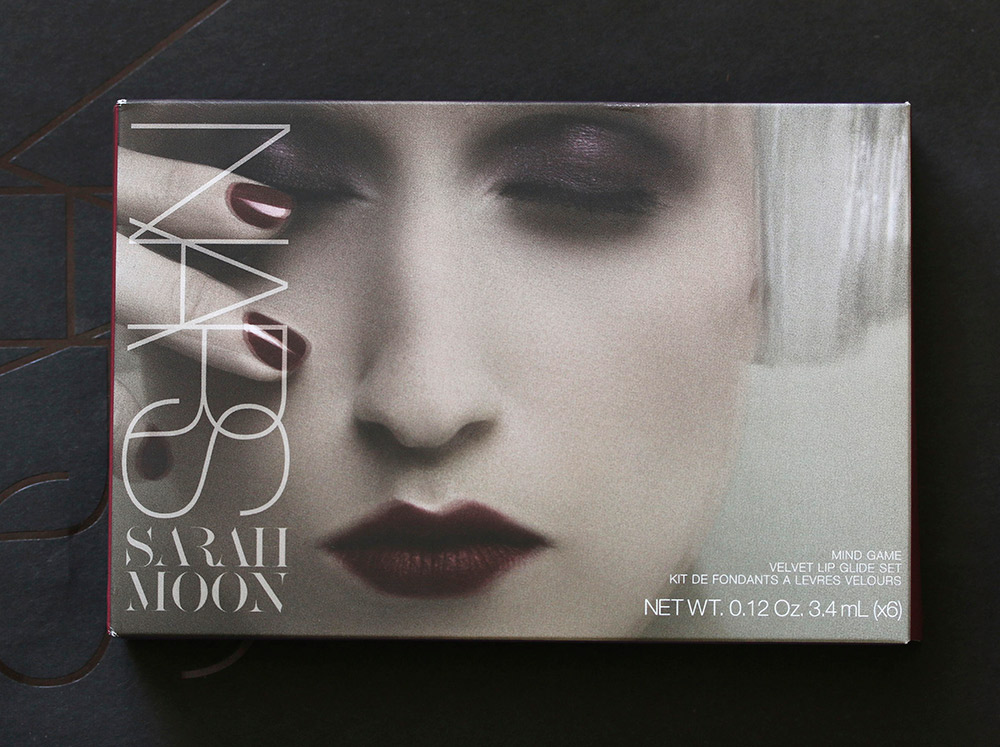 nars sarah moon mind game velvet lip glide packaging