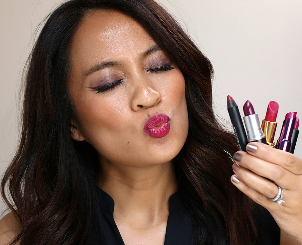 k with lipsticks
