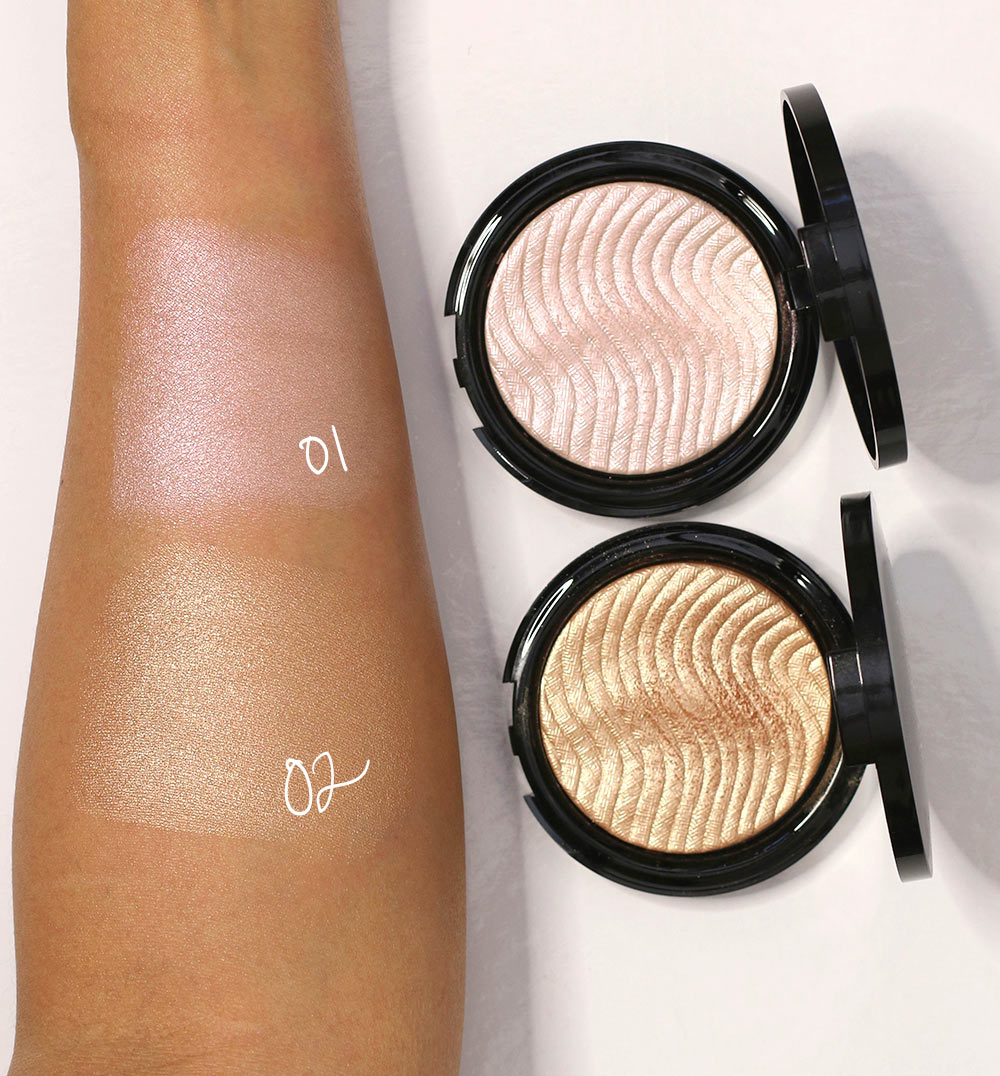 make up for ever pro light fusion swatches
