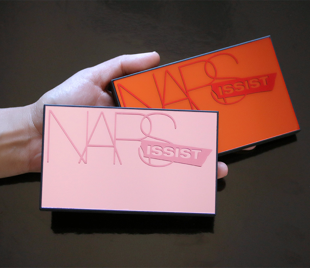 nars unfiltered cheek palette scale