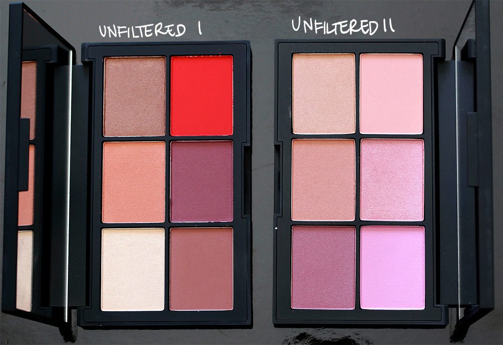 nars unfiltered i unfiltered ii