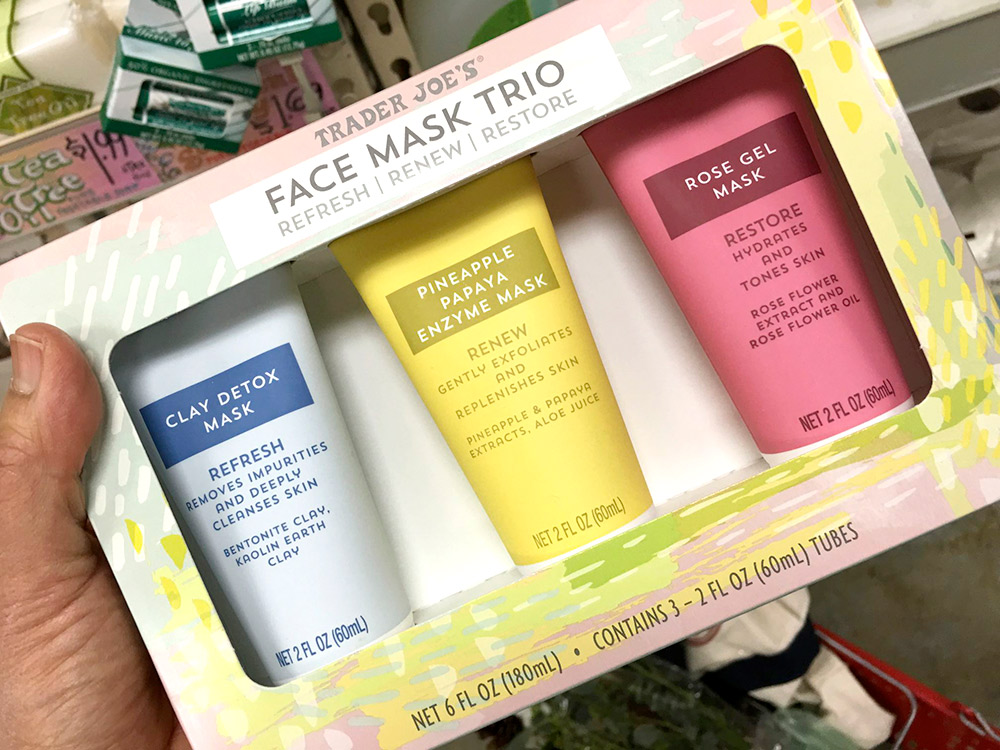 trader face mask trio
