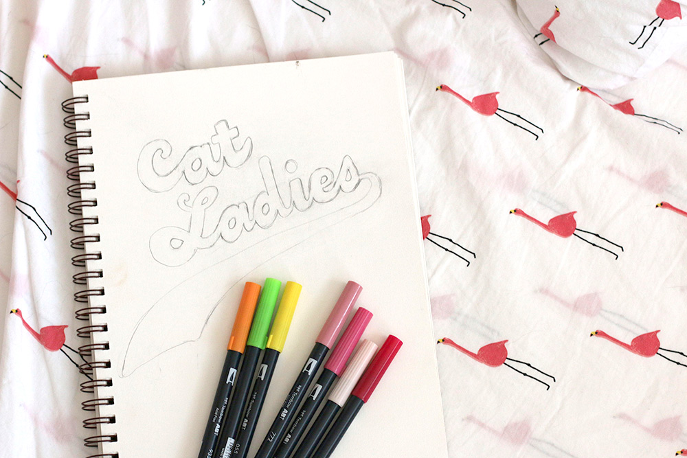cat ladies pens