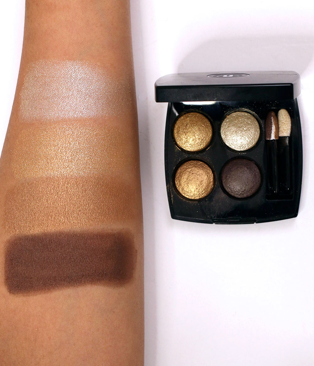 chanel elegants quad swatches