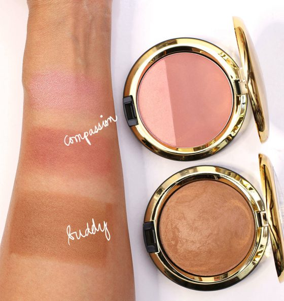 mac caitlyn jenner swatches mineralize