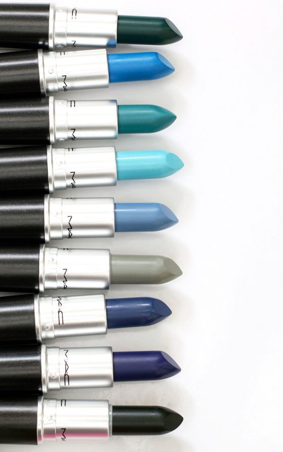 mac colour rocker blues greens