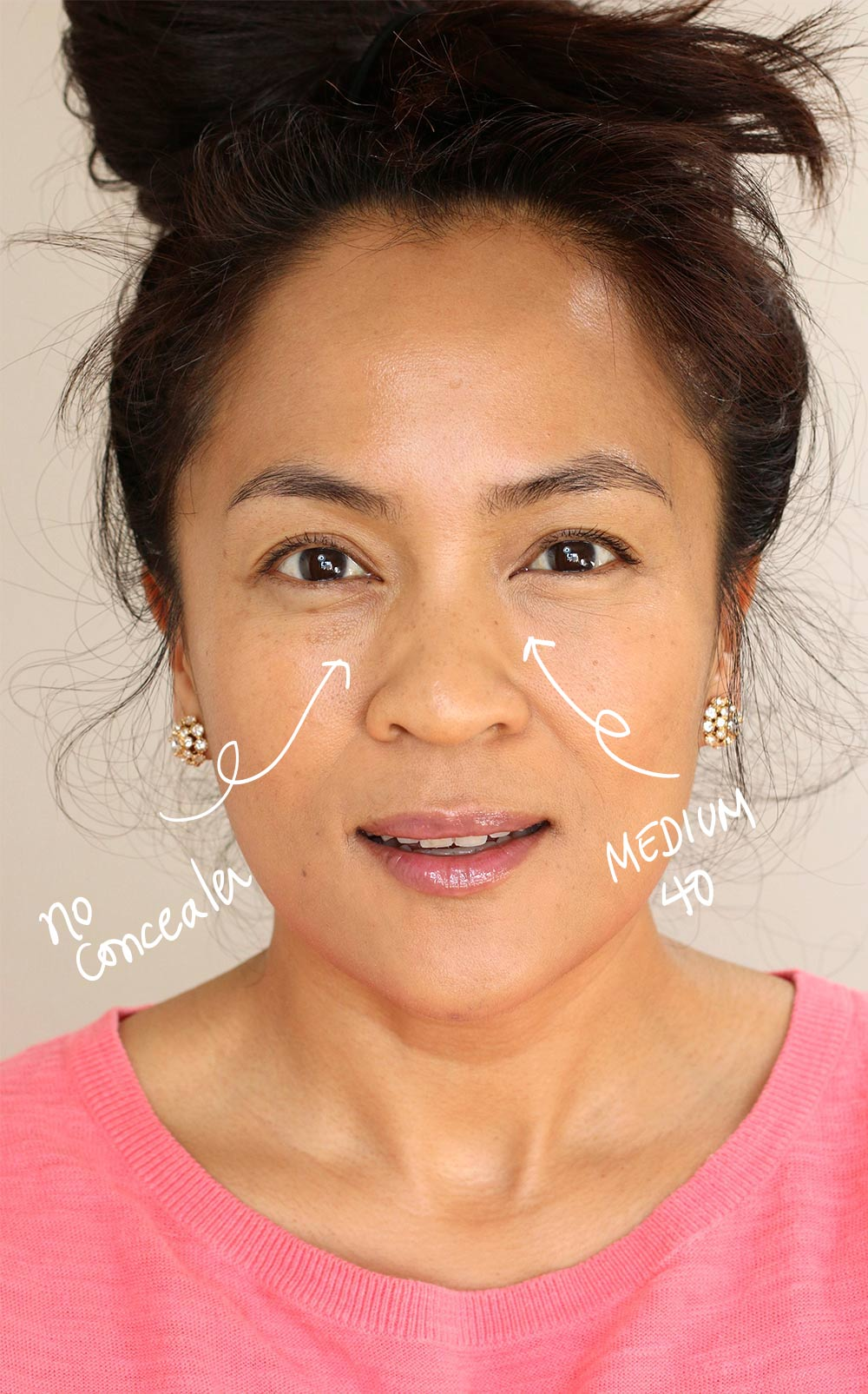 neutrogena hydro boost hydrating concealer before and after