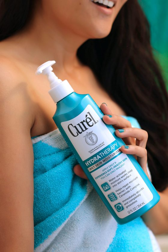 How Well Has Curel Hydra Therapy Helped My Perpetually Parched Skin? #EndDrySkin #sponsored