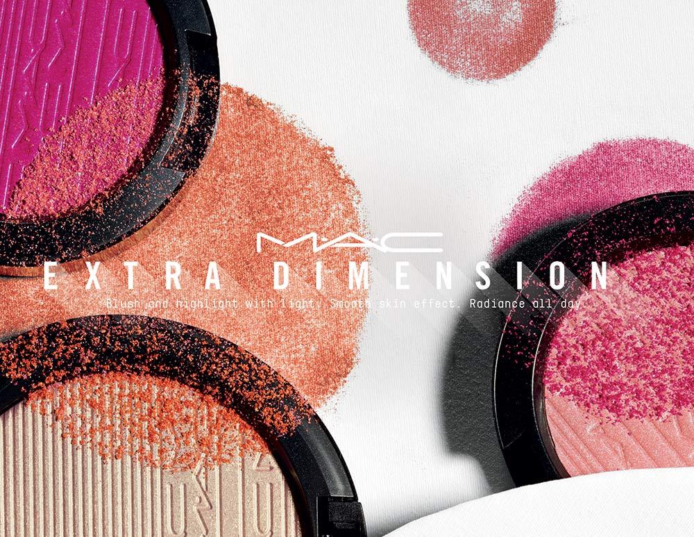 mac extra dimension blush skinfinish april 2017