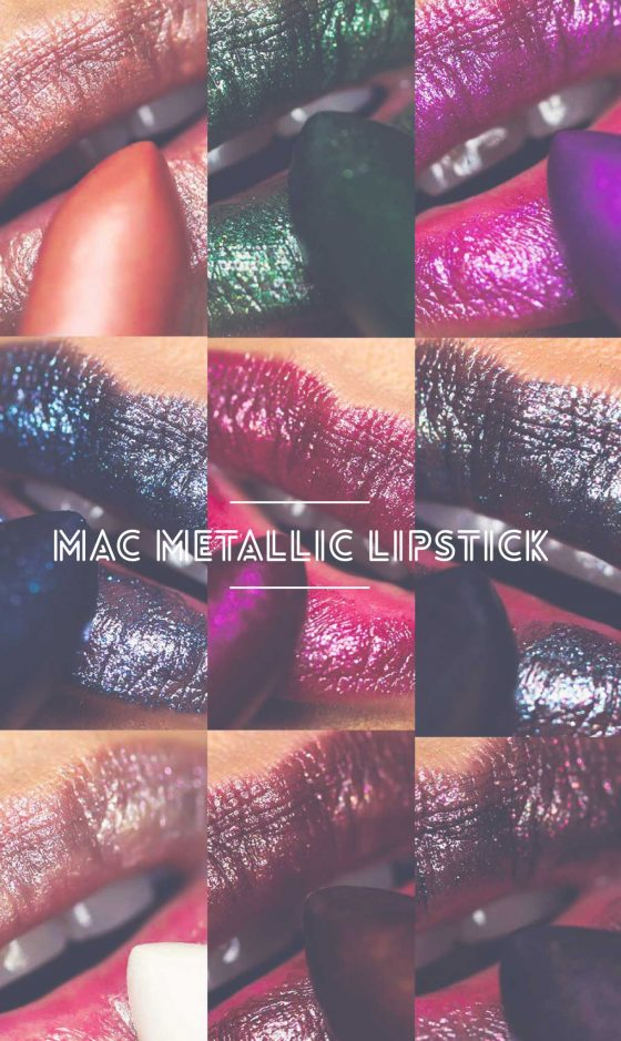 The MAC Metallic Lips Collection: The Nudes Are Rocking My World