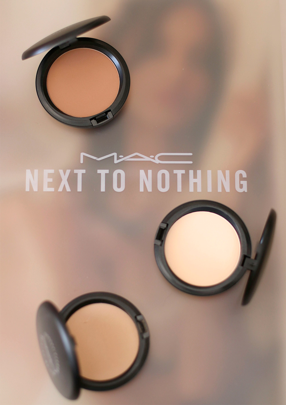 Mac next to nothing collection face colours pressed powders and fan mac next to nothing pressed powder nvjuhfo Gallery