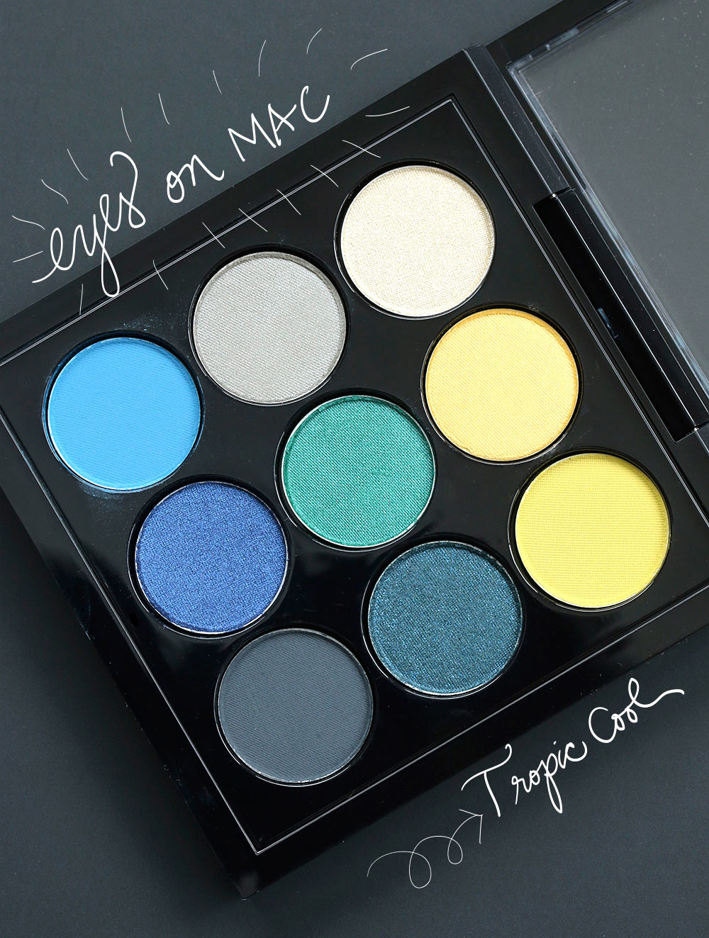 MAC Eye Shadow X 9 In Tropic Cool Times Nine