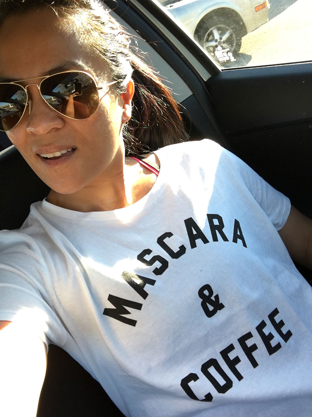 Mascara coffee yes and yes makeup and beauty blog for How to get coffee out of shirt