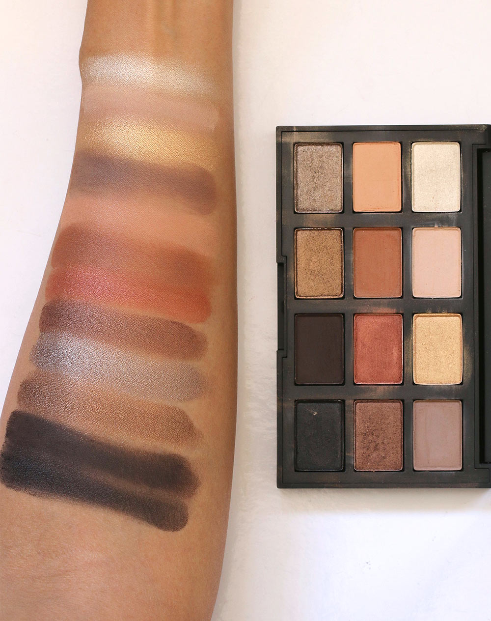 nars loaded swatches