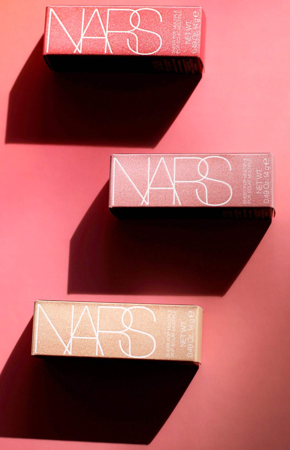 nars pop goes the easel sheer pop multiples boxes