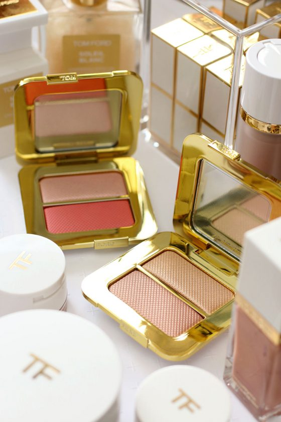 Tom Ford 2017 Summer Soleil Collection Sheer Cheek Duo in Paradise Lust and Sheer Highlighting Duo in Reflects Gilt