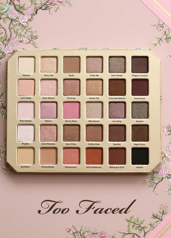 The New Too Faced Natural Love Palette