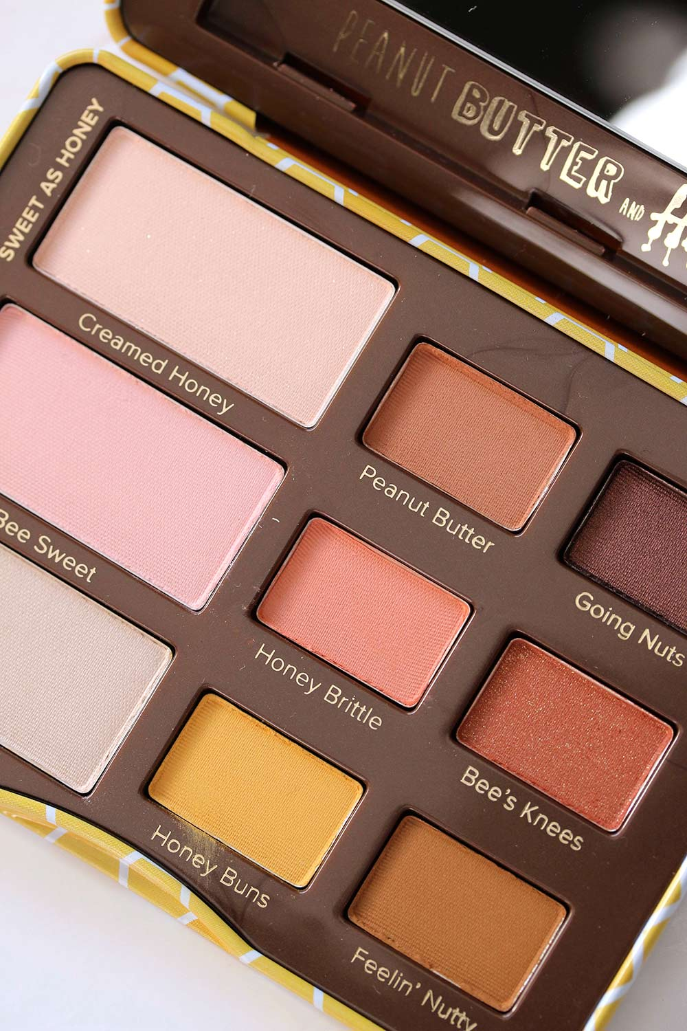 too faced peanut butter honey palette 2