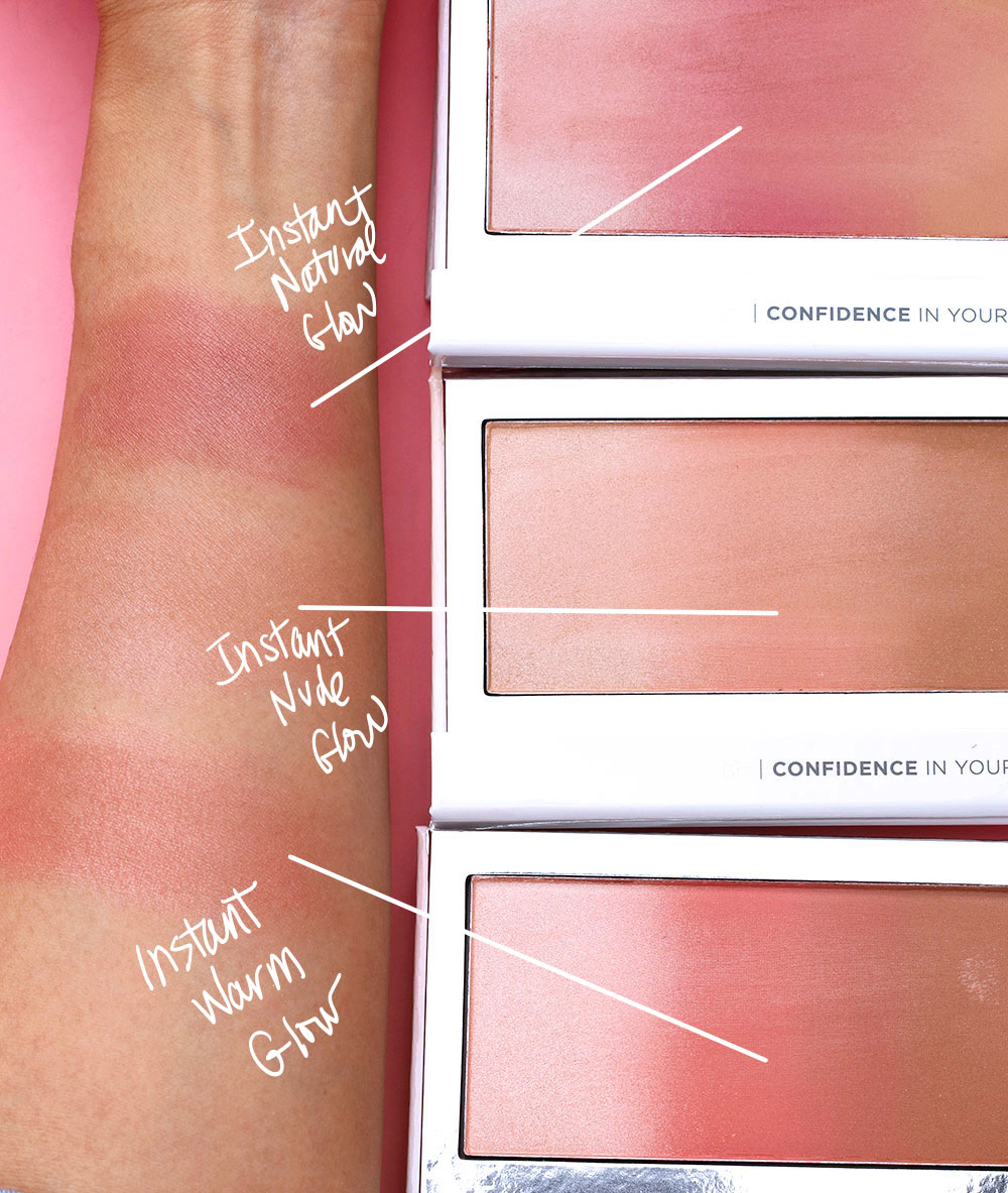 it cosmetics confidence in your glow swatches