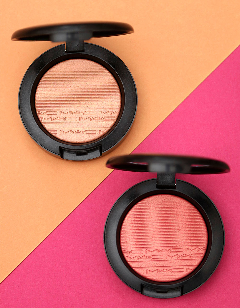 mac extra dimension blush just a pinch cheeky bits