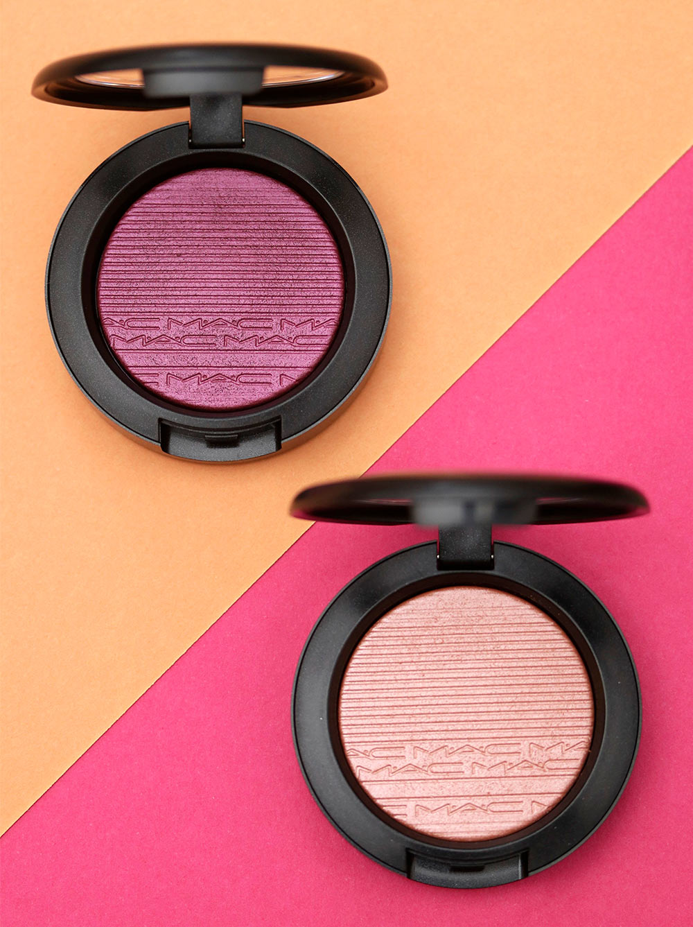 mac extra dimension blush wrapped candy fairly precious