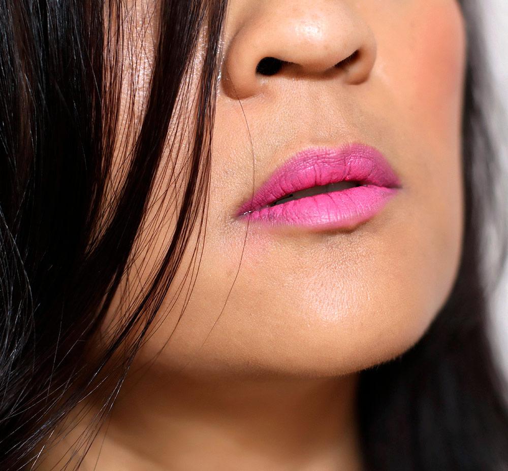 mac min liu peach blossom pink lipstick