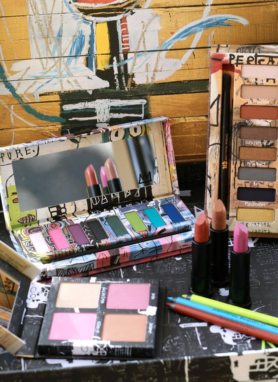 Mostly Makeup-Related Friday Ramblings: The Urban Decay Basquiat Collection, New Makeup Setting Sprays, and Mom Brain (It's a Legit Thing!)