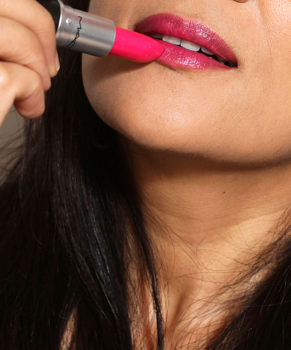 mac ionized iris lipstick