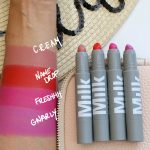 milk makeup lip color swatches