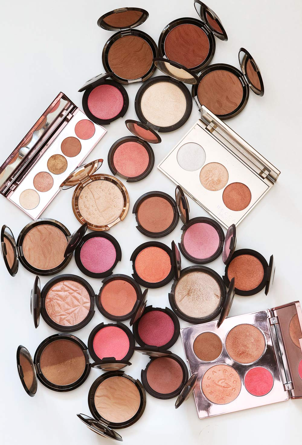 becca cosmetics flat lay monday poll july 17