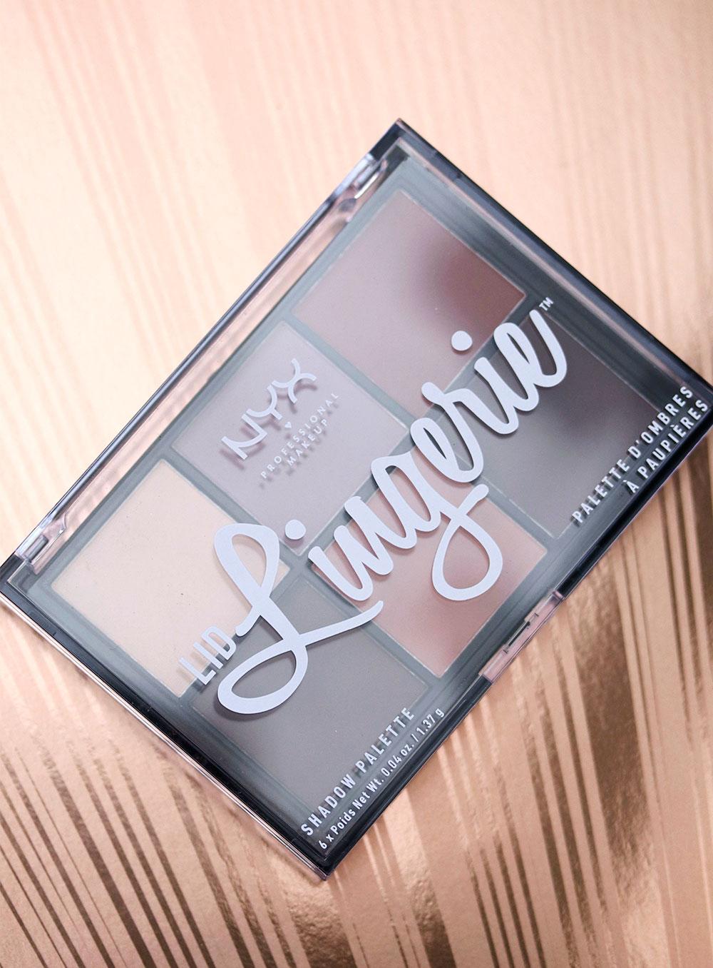 nyx lid lingerie packaging