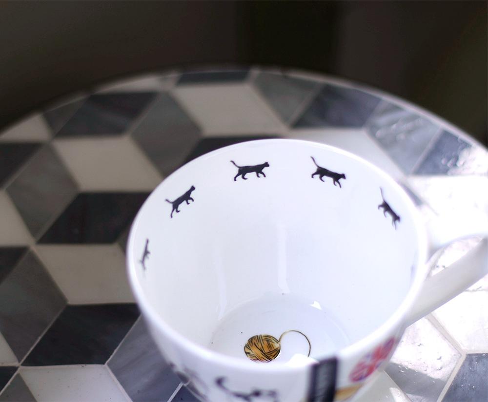 portobello cat cup cat silhouette