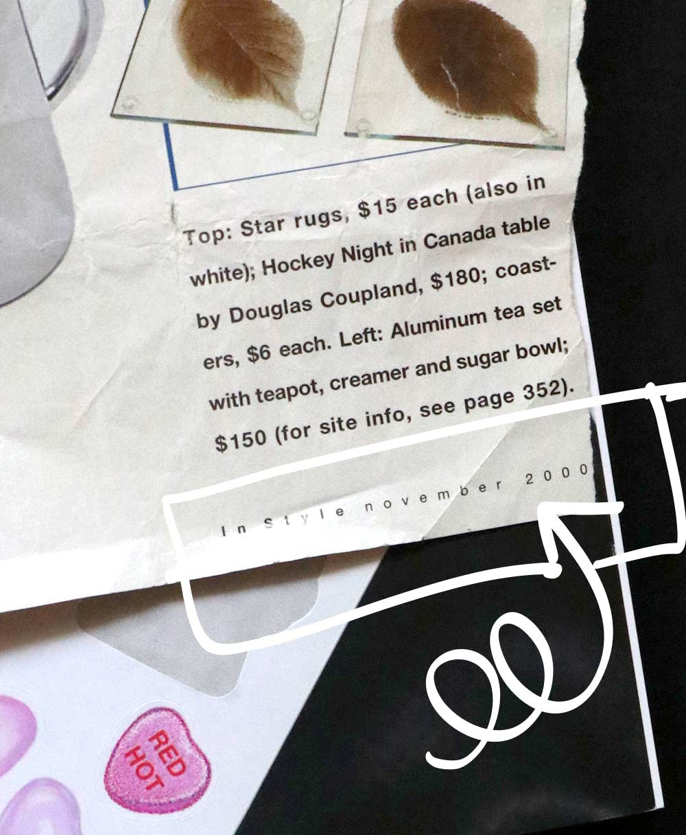 Makeup From the Year 2000!