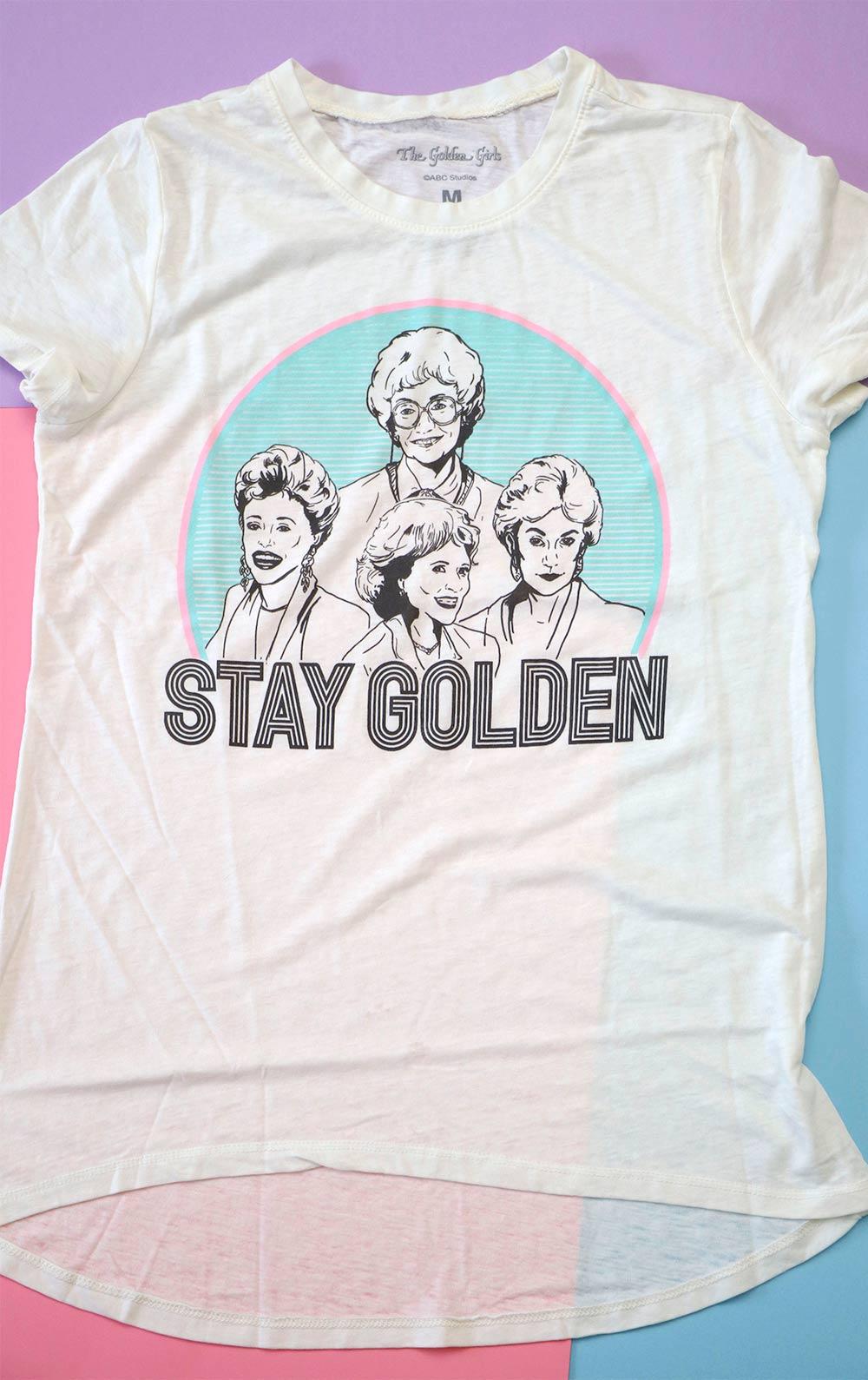 stay golden tee