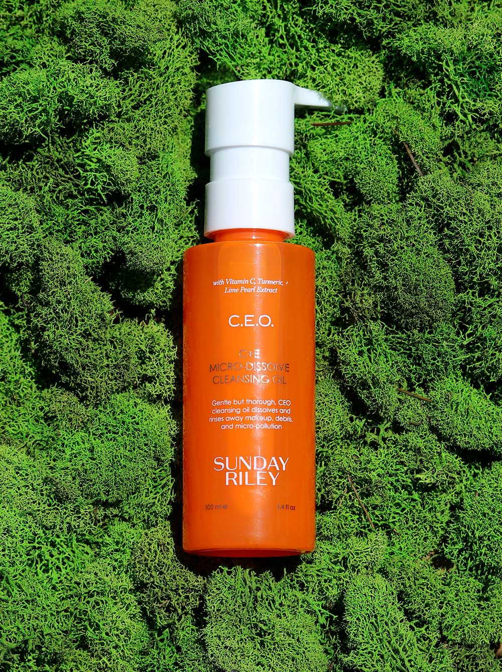 sunday riley ceo cleansing oil