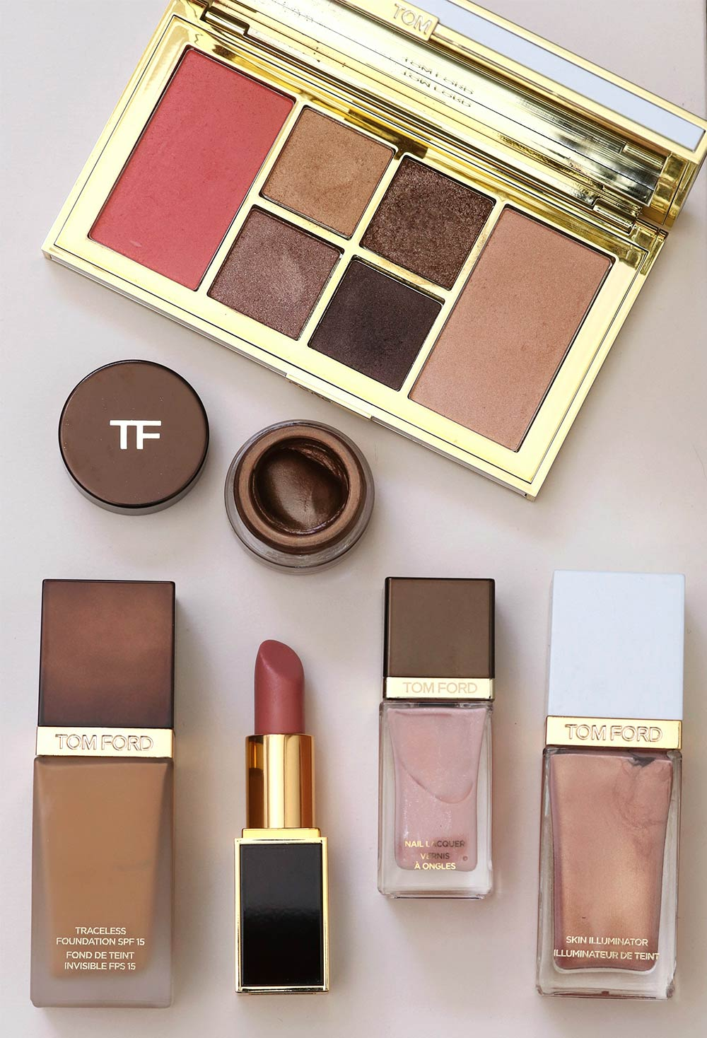 tom ford pink flat lay monday poll