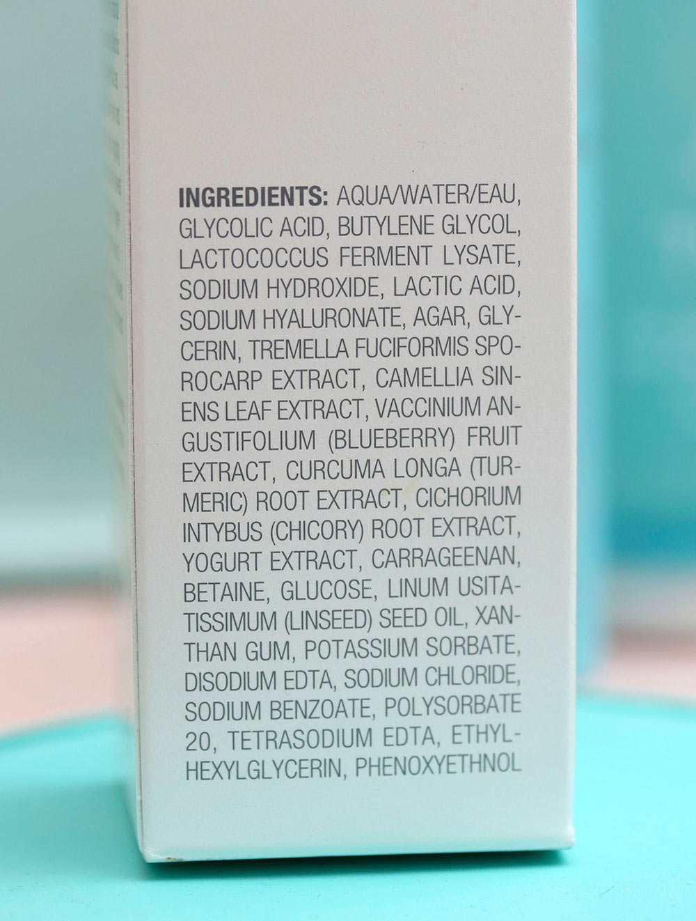 tula pro glycolic ingredients