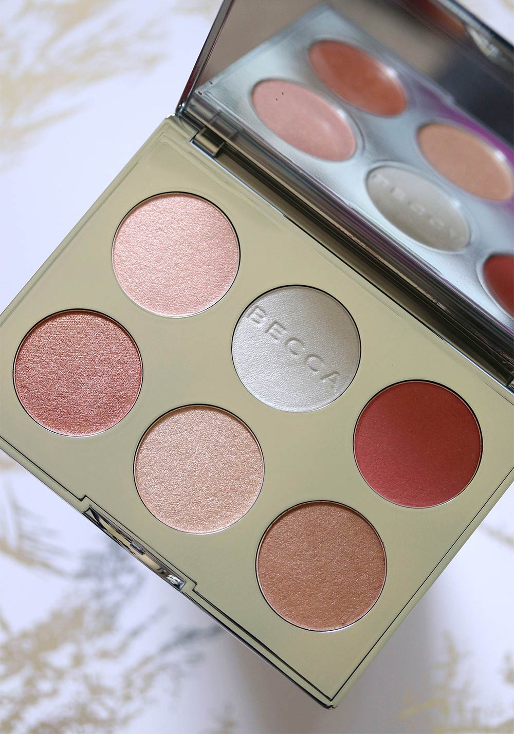 Becca Apr 232 S Ski Glow Face Palette For Holiday 2017