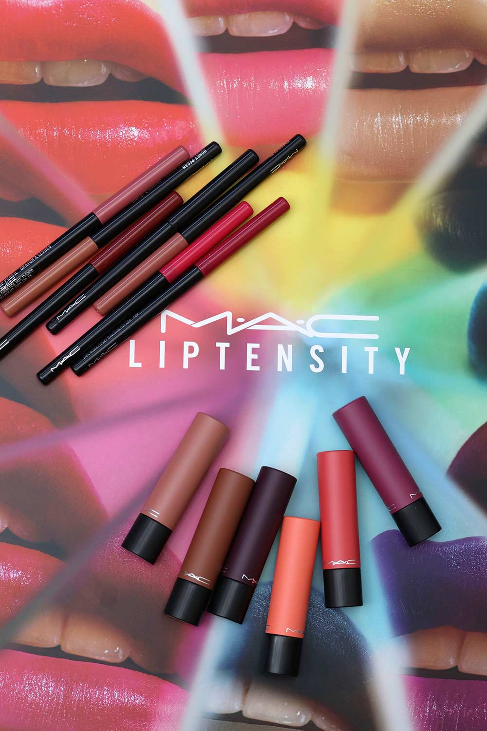 mac liptensity lipsticks lip pencils