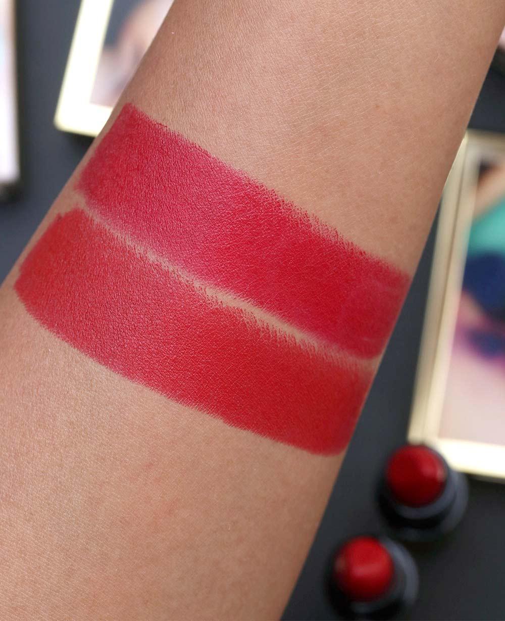 mac rossy de palma lipsticks frenesi rossy swatch