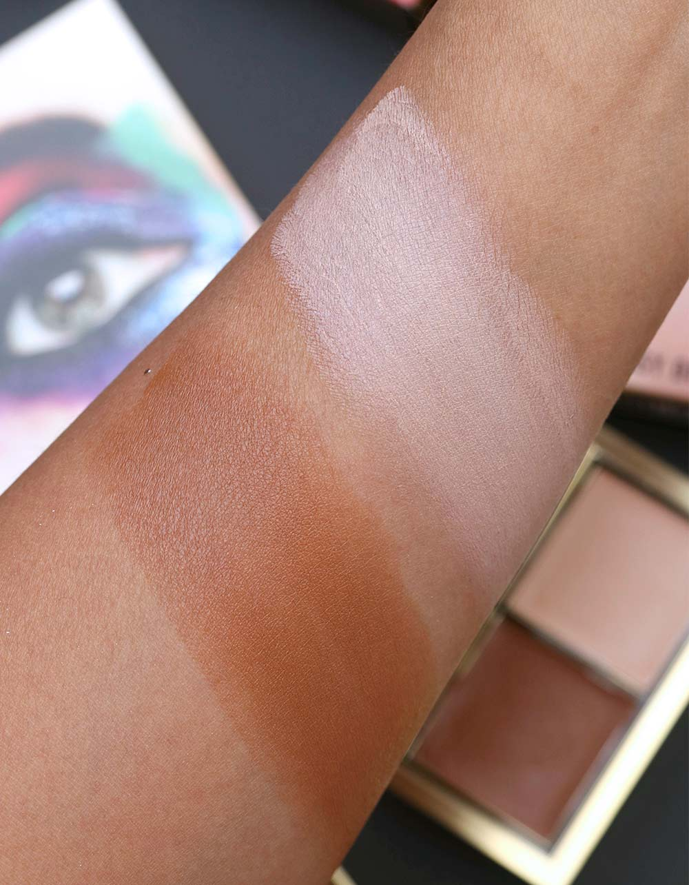 mac rossy de palma nose pose swatch