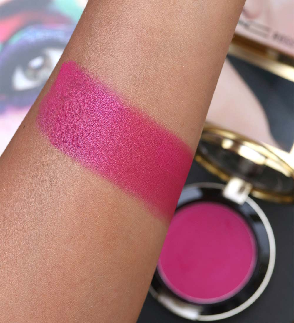 mac rossy de palma pink desire swatch
