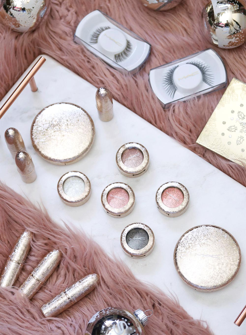 mac snow ball holiday collection all