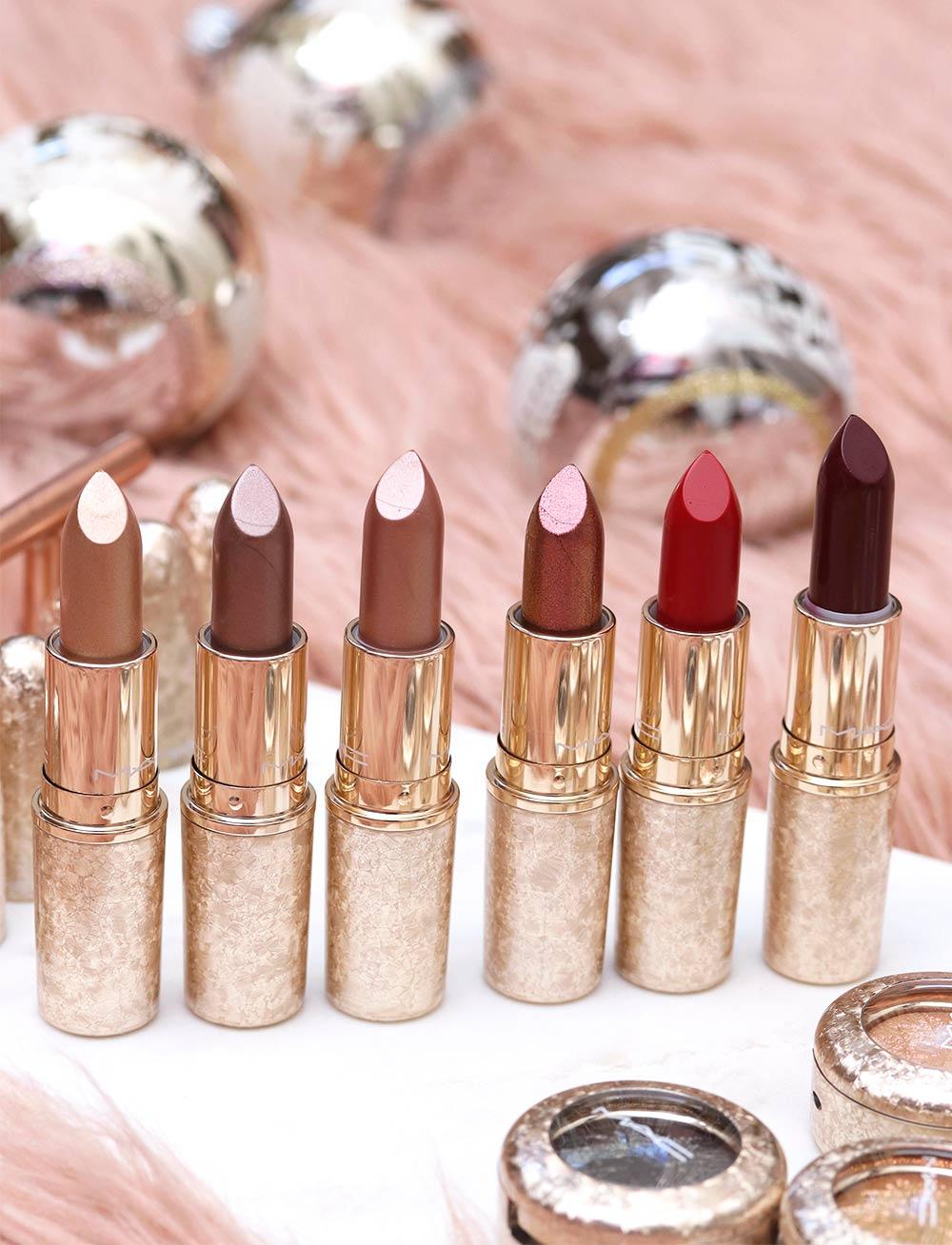 mac snow ball lipsticks