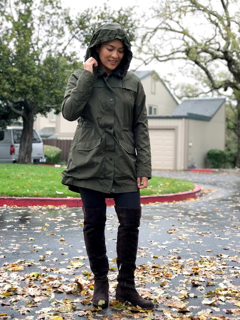 a new day raincoat