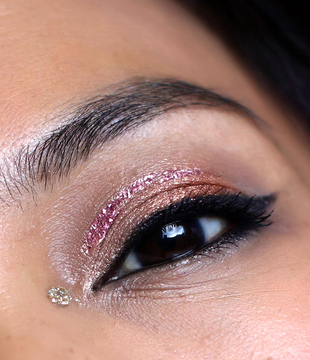 mac snow ball pigment glitter kit pink k pink lips