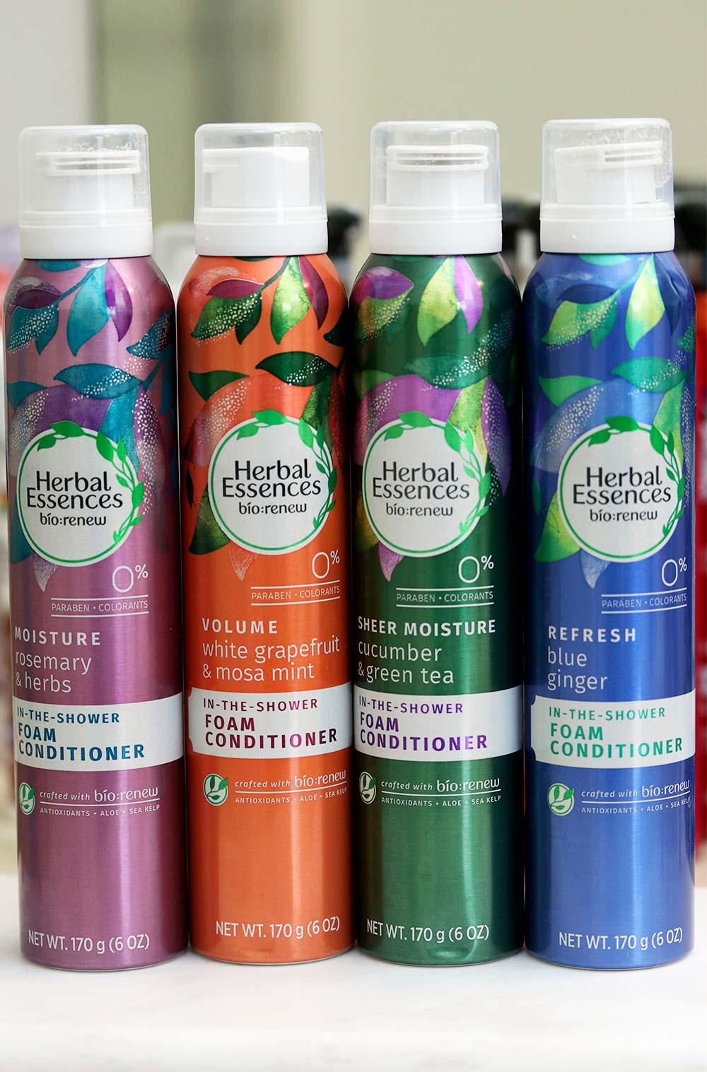 herbal essences foam conditioner